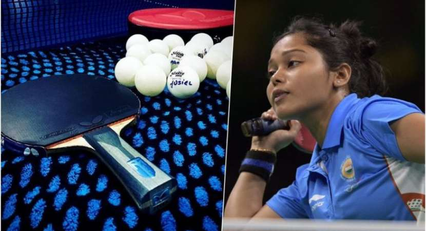 India At Asian Games  Indian Womens Table Tennis Team In Quarters Www Newsheads In
