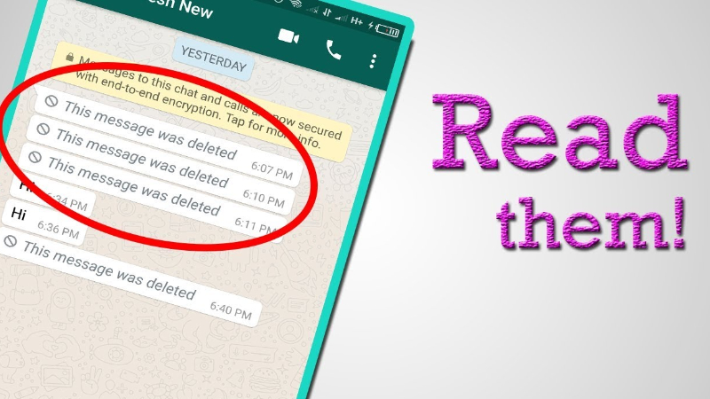 WhatsApp Tricks: This is how you can read deleted chats