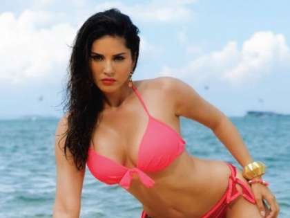 In Pics Sunny Leone Poses Nude During Hot Photo Shoot On A Bed Of Red