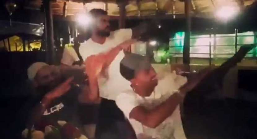 Video: Virat Kohli syncs dance moves with Dhawan, Pandya