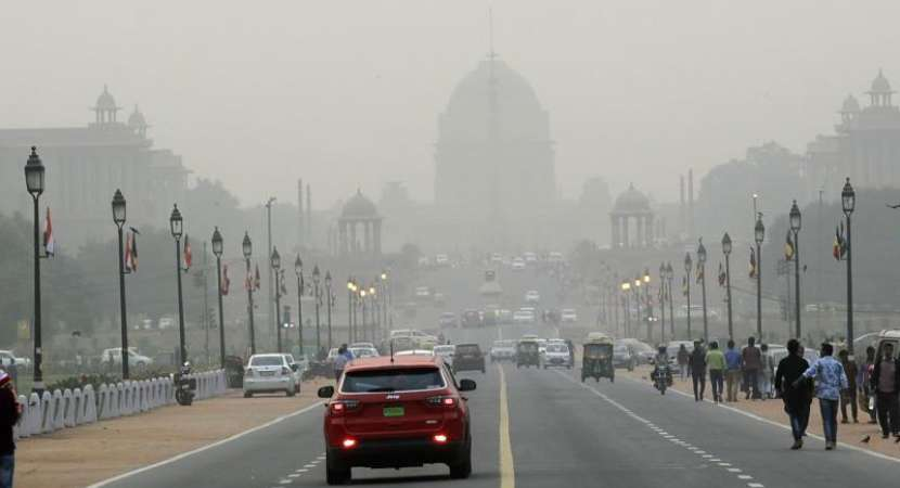 Delhi air quality back to severe plus