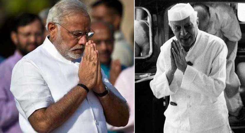 PM Modi pays tribute to Pandit Nehru on 128th birth anniversary