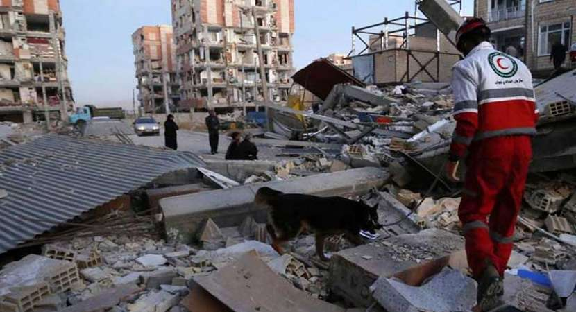 Iran devastated post mega earthquake