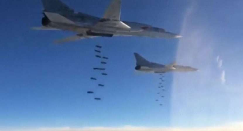 Russia continues to bomb Islamic State terrorists in Syria