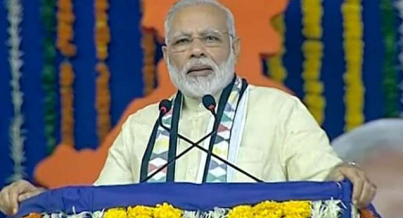 PM Narendra Modi takes dig at Congress' claim on Gujarat win, refers to Cyclone 'Ockhi' that did not come