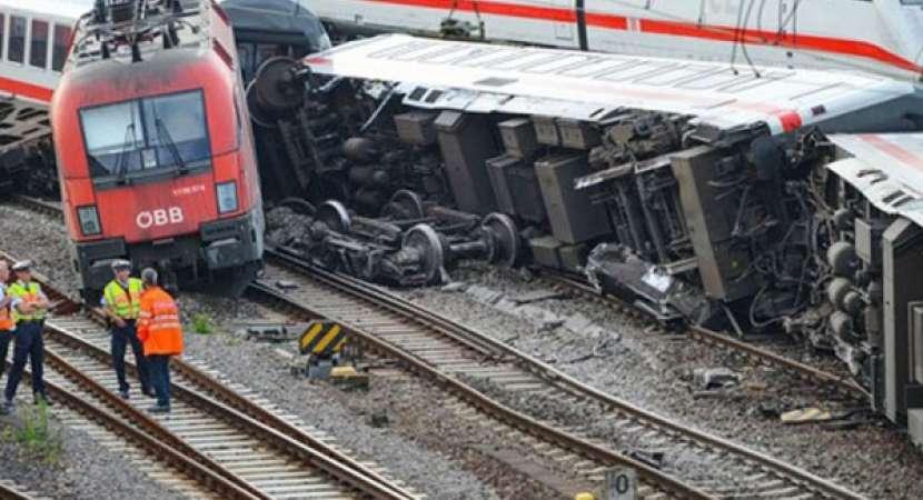 47 people injured in German train collision