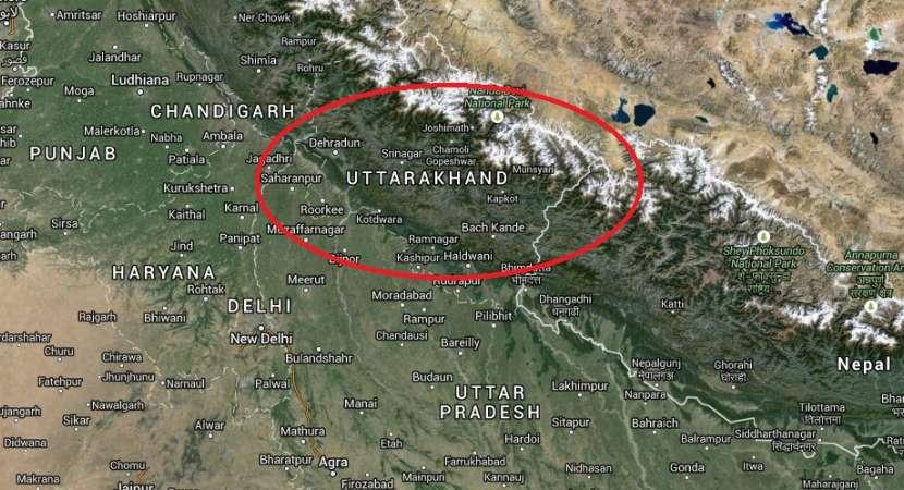 5.1 Earthquake in Uttarakhand,tremors felt in Delhi, NCR