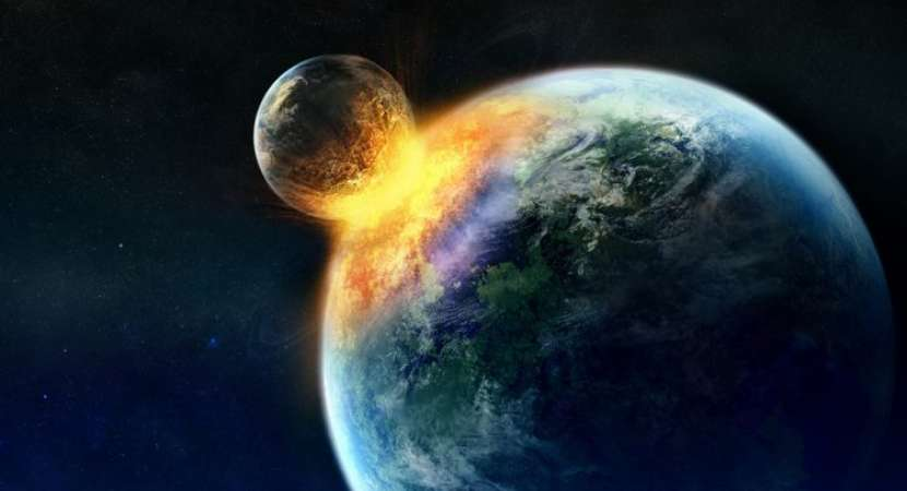 Collision with Moon-sized body brought gold to Earth: Study