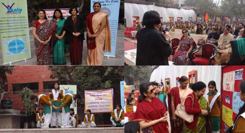 Vikalp organises 'ME Zone WE Zone' at government school in Delhi