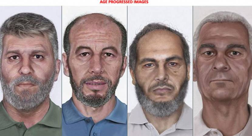 Age progressed pictures of 1986 Pan Am Flight 73 hijackers released