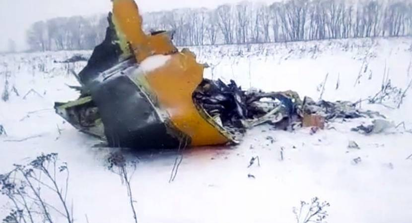 Russian passenger jet crashes with 71 on board, no survivors