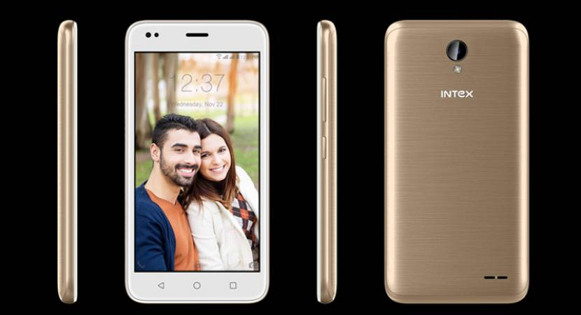 Intex launches Aqua Lions T1 Lite with 5-inch display at Rs 3,899