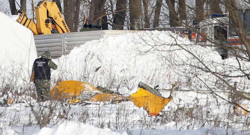 Russian plane crash: Search for passenger bodies continues