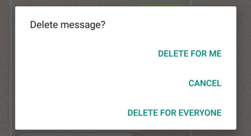 WhatsApp 'Delete for Everyone' message time limit extended