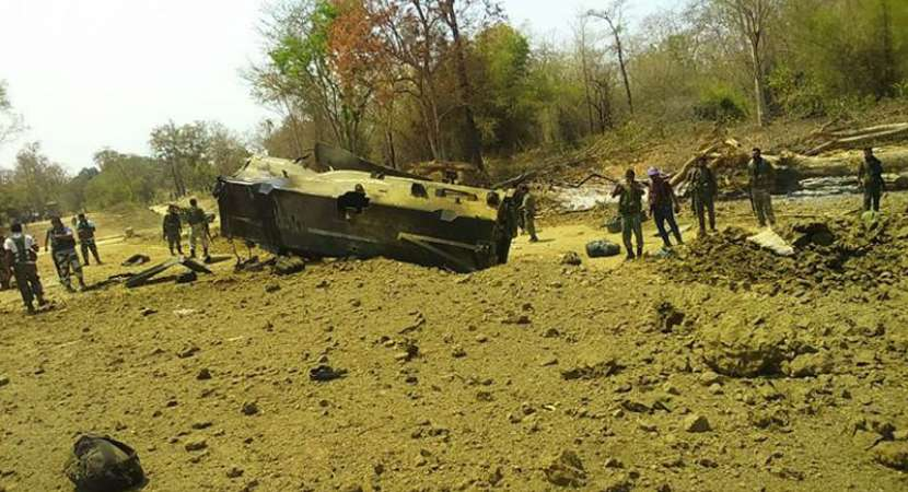 Nine CRPF personnel killed in Chhattisgarh Maoist attack