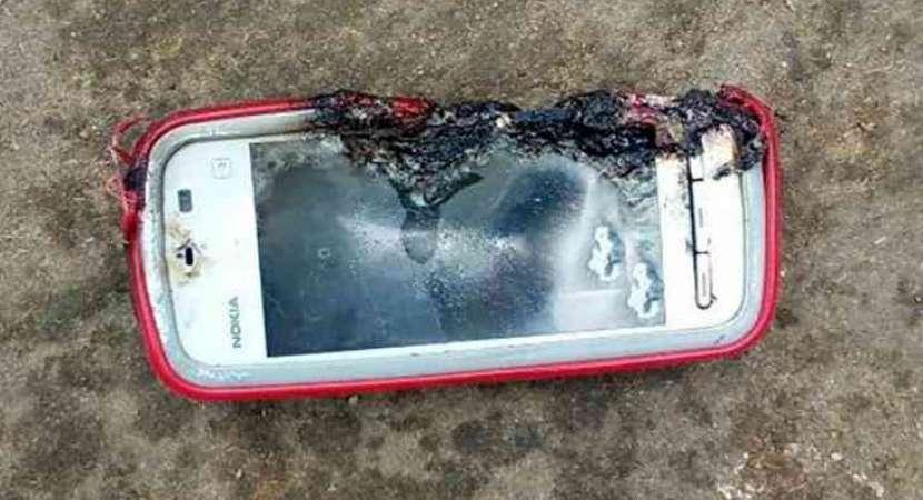 Image result for mobile battery blast