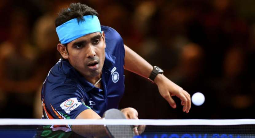 Achanta Sharath Kamal wins gold in 2018 Commonwealth Games
