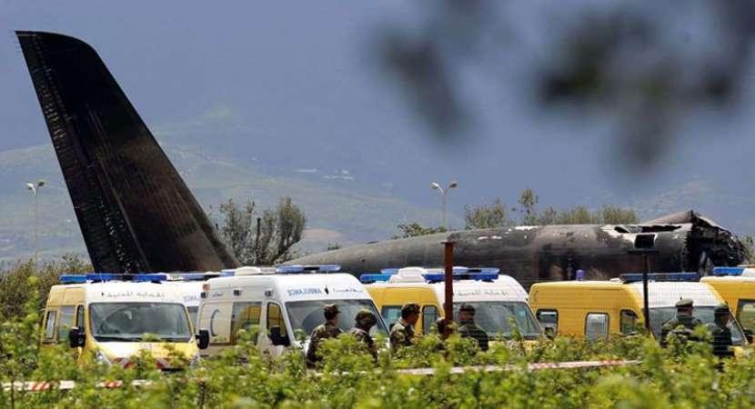 257 killed as military plane crashes in Algeria