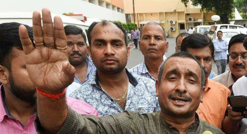 FIR booked against rape-accused BJP MLA Kuldeep Sengar
