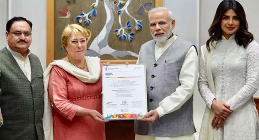 Priyanka Chopra has 'insightful' conversation with PM Modi