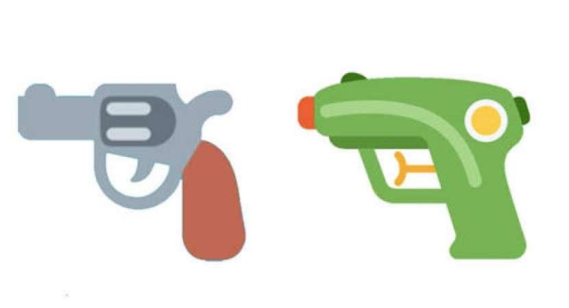 Twitter replaces 'pistol' emoji with 'water gun'