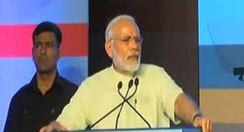PM Modi boards Delhi Metro, surprises visitors