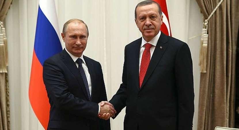 Putin, Erdogan express concern over Syria