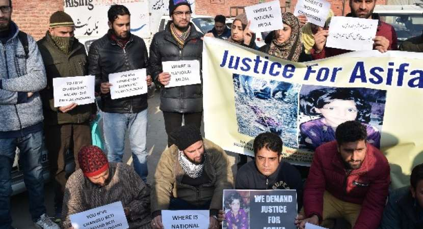 Kathua gangrape-murder case: Protest against the rape and murder of 8-year-old in Kathua, J&K