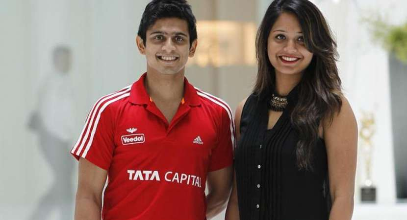 Indian Squash player Dipika Pallikal and Saurav Ghosal win a silver in CWG 2018