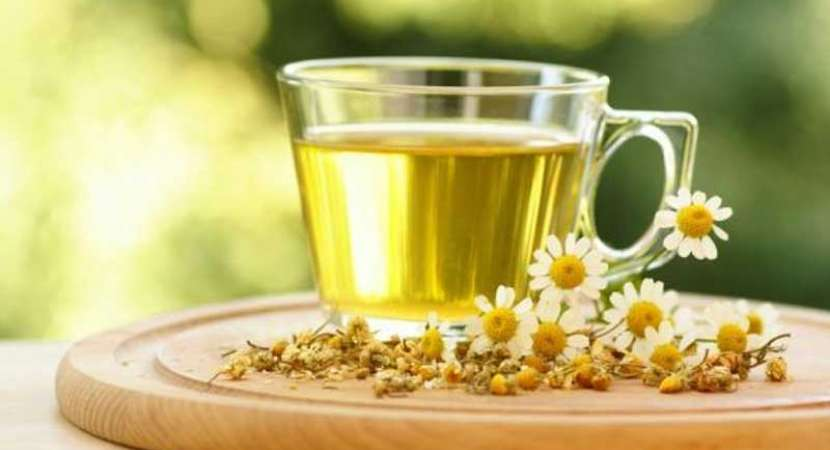 Relax your nerves, mind with chamomile, fennel tea