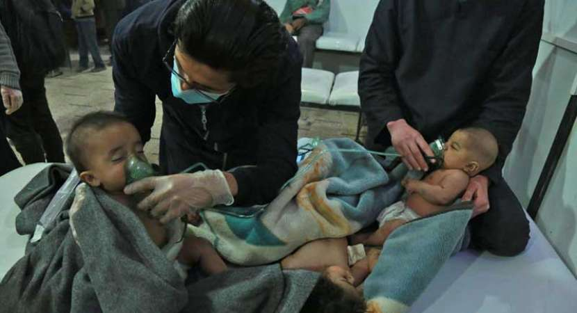 US claims it has proof about Syria chemical attack