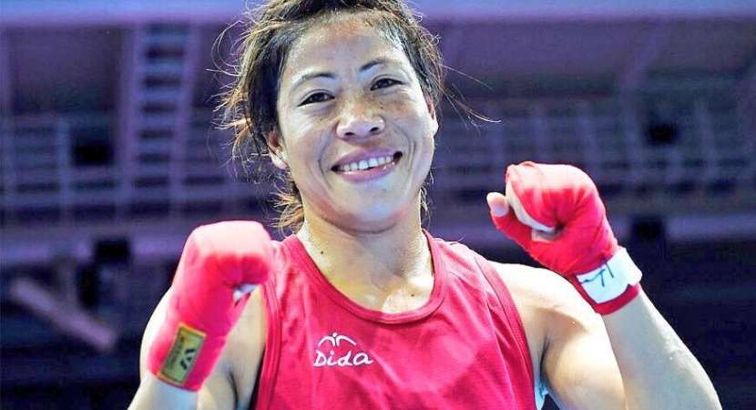 Mary Kom wins gold in boxing final in common wealth games 2018