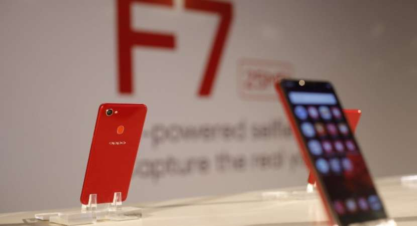 OPPO F7 smartphone new colour variant with 6GB RAM launched in India at Rs 26,990