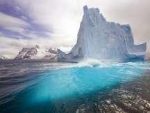 Antarctica glaciers making seawater less salty, more buoyant