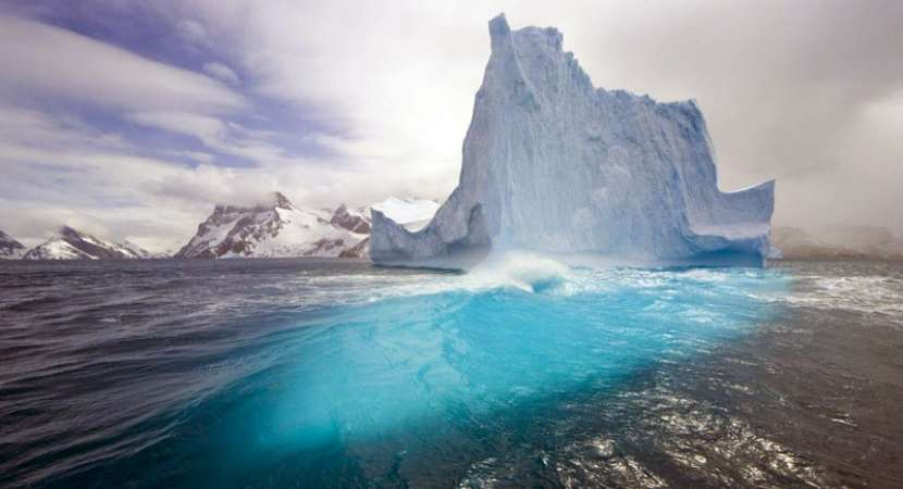 Antarctica glaciers making seawater less salty, more buoyant