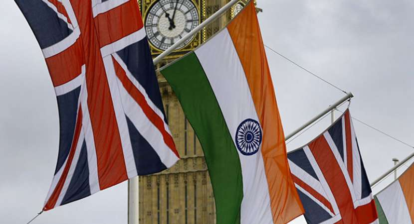 UK tenders apology as protesters tear Indian flag at anti-Modi rally