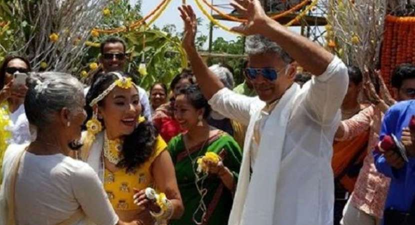 Milind Soman and Ankita Konwar tie the knot in Alibaug
