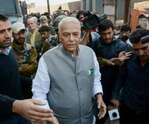 Yashwant Sinha 'a puppet of Congress', says BJP