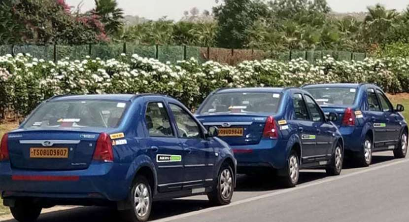 Mahindra, Meru to launch pilot EV Taxis in Hyderabad
