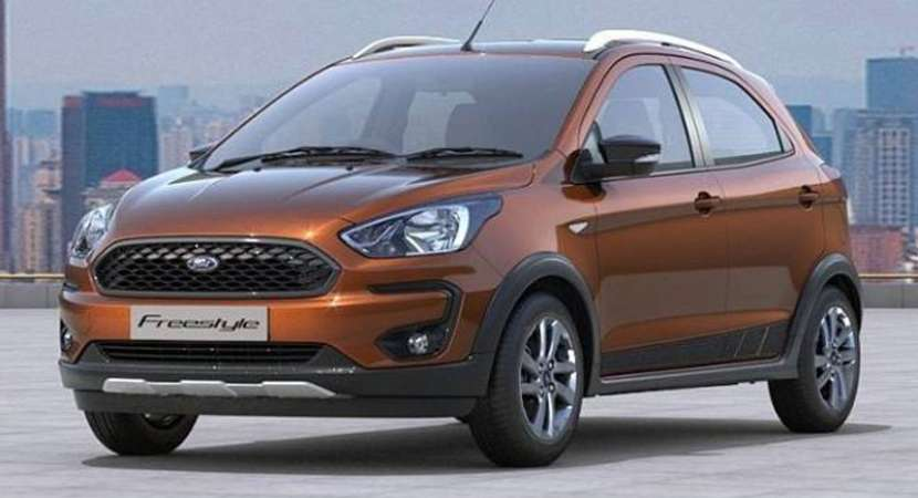 Ford Freestyle Compact Utility Vehicle launched in India at Rs 5.09 lakh