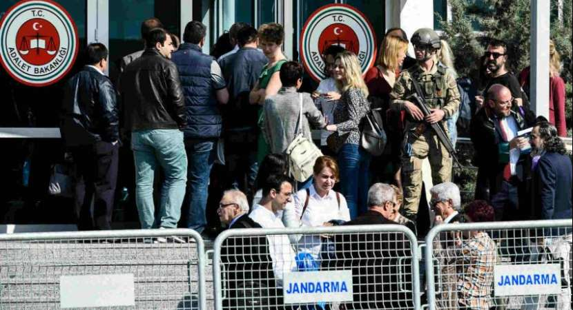 14 journalists charged with terrorism charges in Turkey