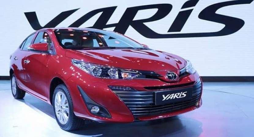 Toyota Yaris mid-size sedan bookings begin