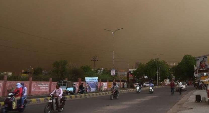 93 die in UP, Rajasthan due to storm, lightning