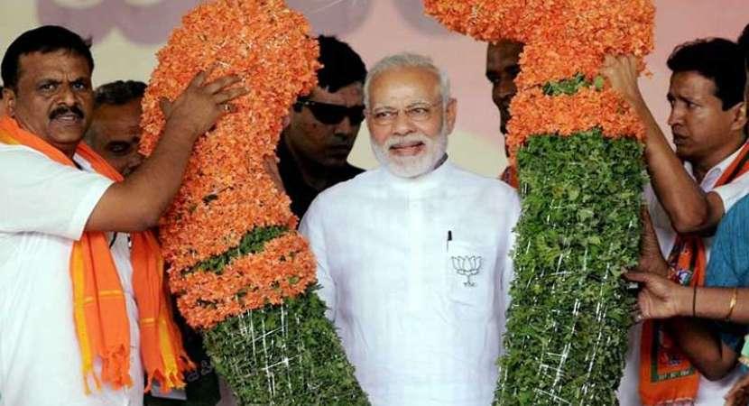 Congress, JD-S in poll tie-up, pretending to fight: Modi