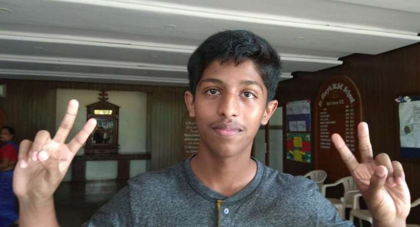 Swayam Das from St. Mary's ICSE School in Kopar Khairane, Navi Mumbai, topped the Class 10 exams with 99.4%.