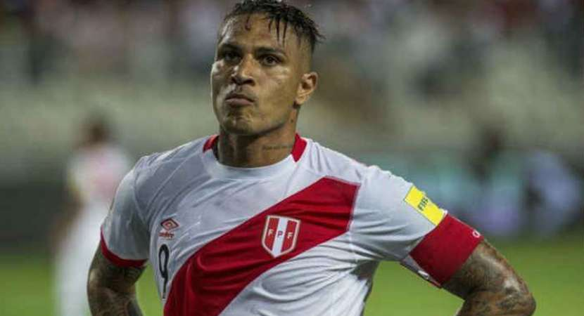 Peru's Guerrero barred from FIFA World Cup