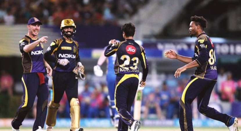 IPL 2018: KKR edge closer to playoffs with easy win against Royals