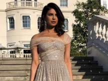 Priyanka Chopra nails the look at the royal reception