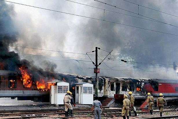Two coaches of AP Express catch fire, no casualty