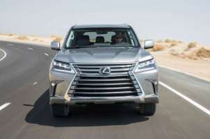 Lexus LX570 luxury SUV launched in India at Rs 2.32 crores